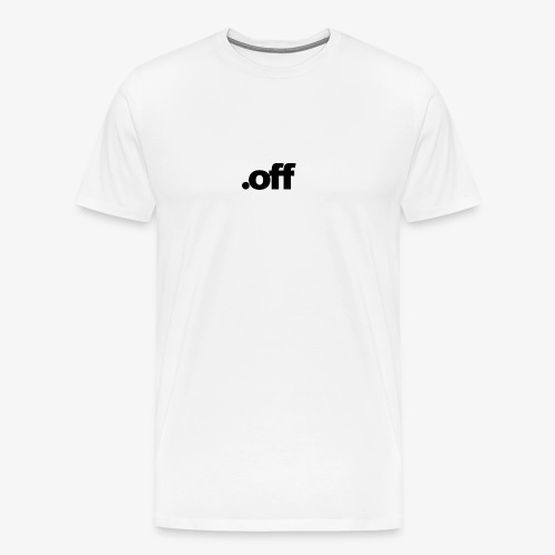 dot off - Herre premium T-shirt