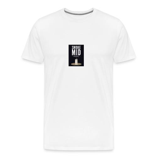 smoke mid - Mannen Premium T-shirt