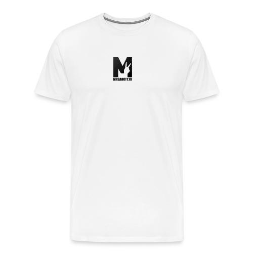 logo texte png - T-shirt Premium Homme
