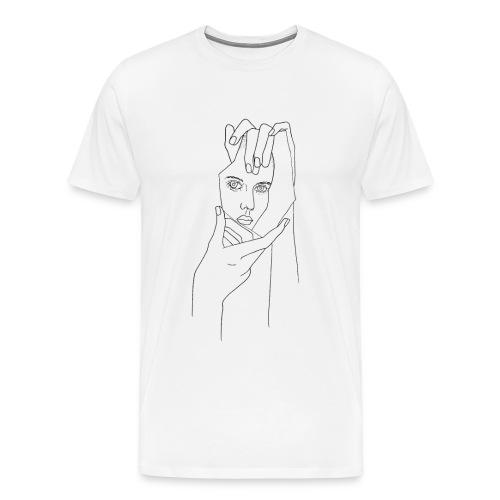 Spiegelsplitter - Männer Premium T-Shirt