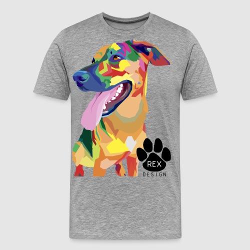 Big Tongue Dog - Men's Premium T-Shirt