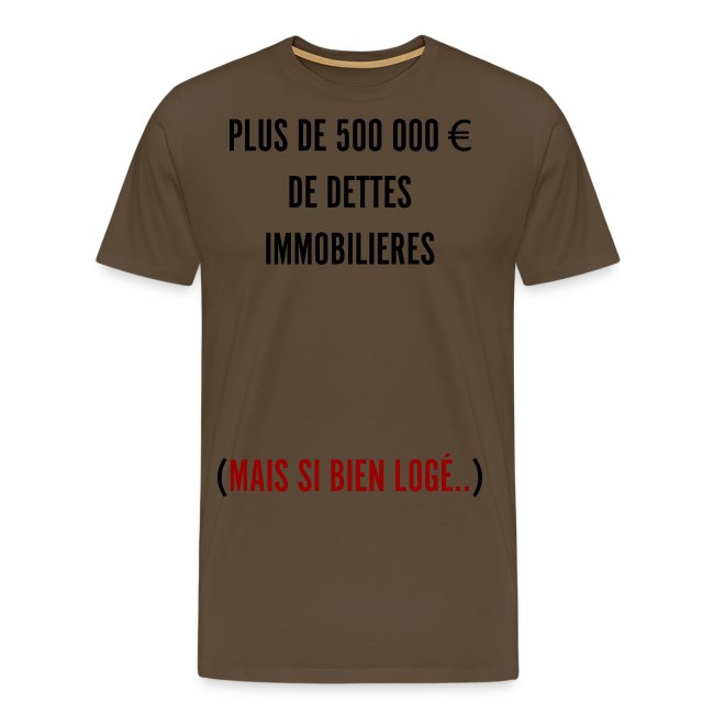 Dettes Immobilières version noir