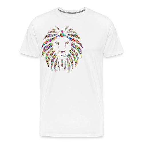 Ausdruck des Löwen - Männer Premium T-Shirt