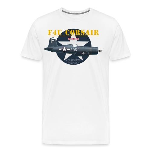 F4U Jeter VBF-83 - T-shirt Premium Homme