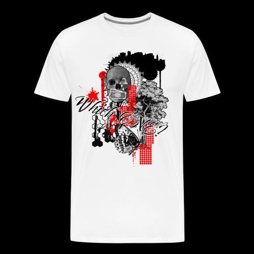 Which one Trash Polka Nature Money Black - Men's Premium T-Shirt