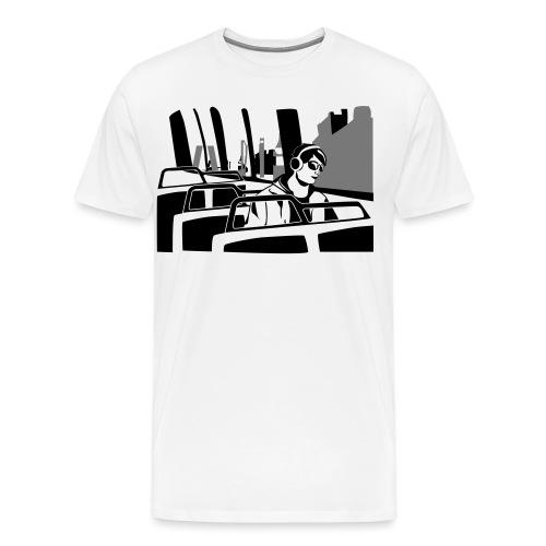music bus - Camiseta premium hombre