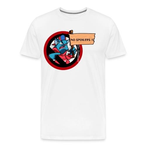 NO SPOILER CAT THUG - T-shirt Premium Homme