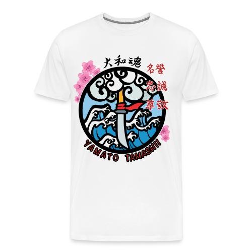 yamato tamashii logo - Maglietta Premium da uomo