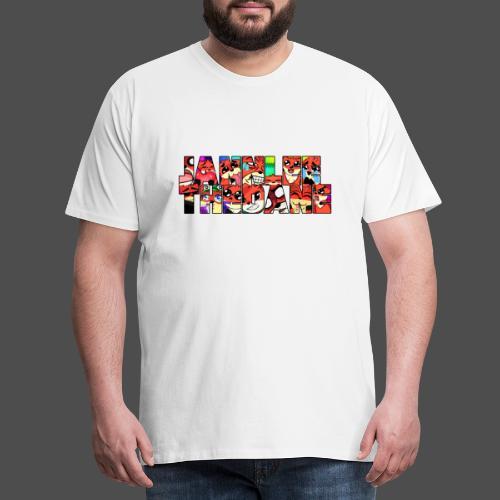 JannLeeTheDane Logo design - Herre premium T-shirt