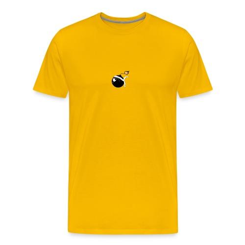 Testa Mora génétiquement Ribellu Corse azezzu - T-shirt Premium Homme