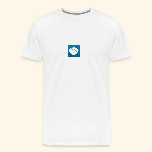 Wir sind zufrieden - Männer Premium T-Shirt