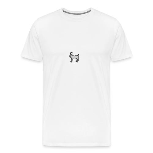 Ged T-shirt herre - Herre premium T-shirt