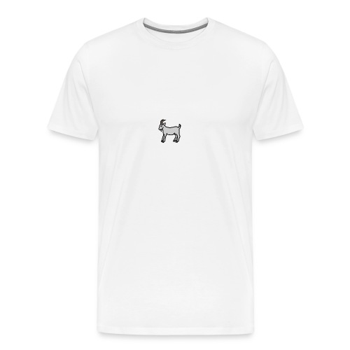 Ged T-shirt dame - Herre premium T-shirt