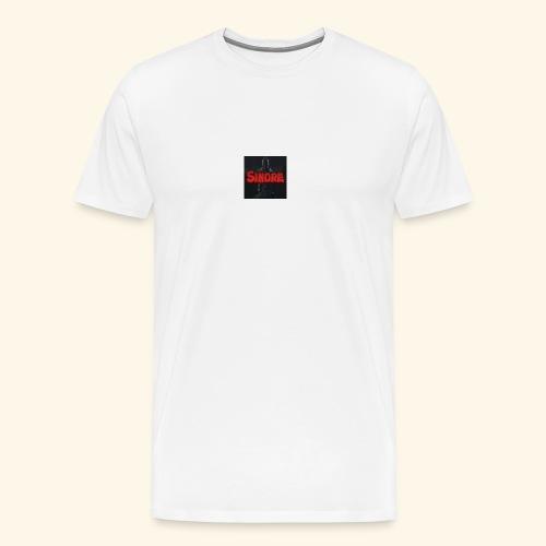 den nyeste logoen min - Premium T-skjorte for menn