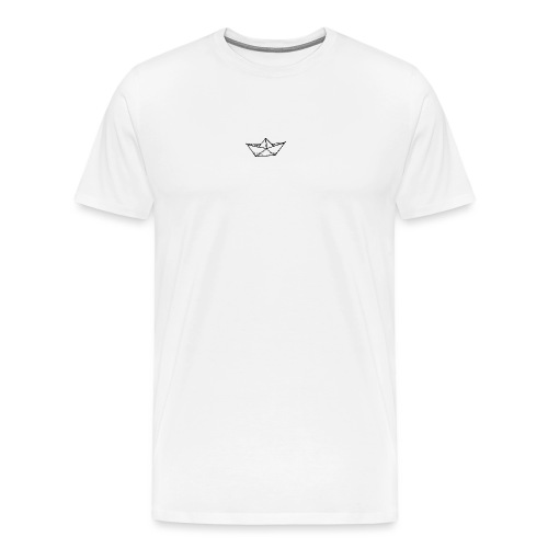 my tiny paper boat - Men's Premium T-Shirt