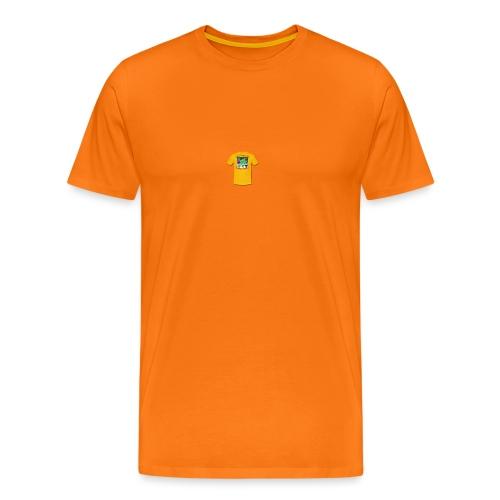 Castle design - Herre premium T-shirt