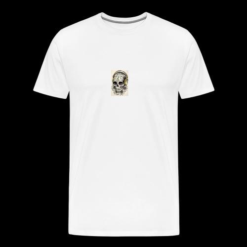 ab7a6a89ac2078fff2dd245fb15abaaf skull tattoo des - Mannen Premium T-shirt