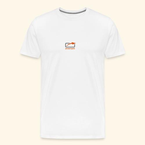 PS Logo Standard - Männer Premium T-Shirt