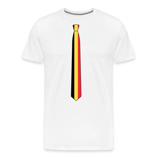 EM Shirt Damen Belgien - Männer Premium T-Shirt