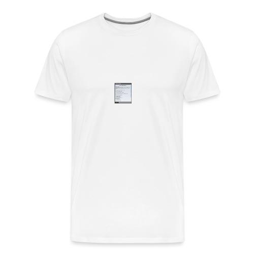 chap1 - Männer Premium T-Shirt