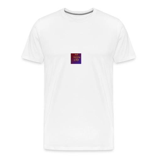 JustGamingLTD-png - Mannen Premium T-shirt