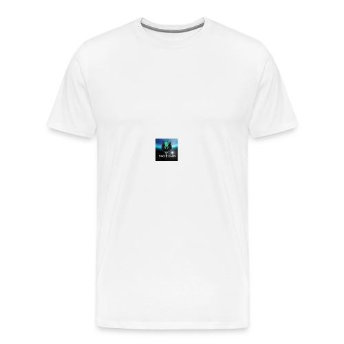 SnowRaven 2 - Mannen Premium T-shirt