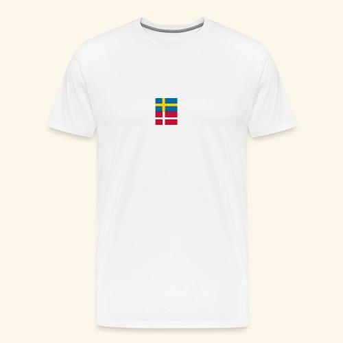 SWEDK png - Premium-T-shirt herr