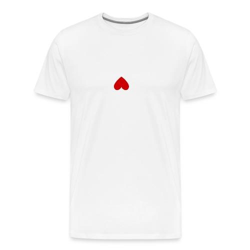 hart_normal_d - Mannen Premium T-shirt