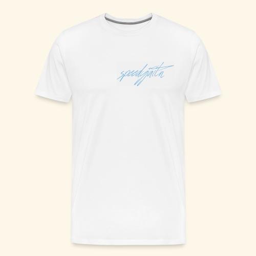 Speedyjaitn Signature Logo - Men's Premium T-Shirt