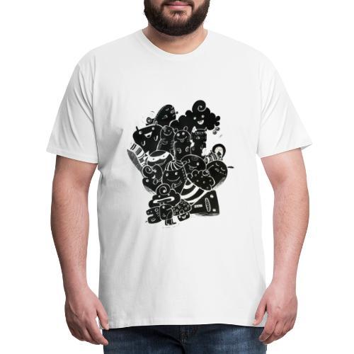 Fun time - Miesten premium t-paita