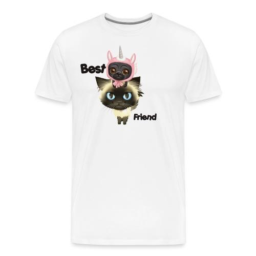 Najlepszy przyjaciel brightsoull. - Koszulka męska Premium