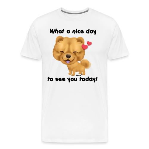 Fin dag av Niszczacy - Premium T-skjorte for menn