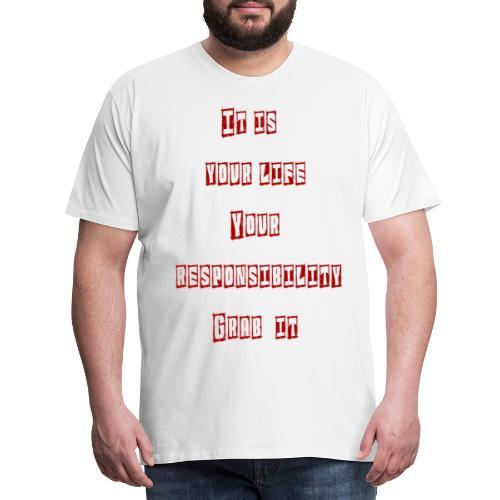 Responsibilit - Herre premium T-shirt