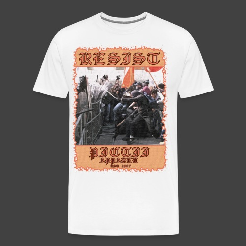 PICTRESIST8 - COL1 - Men's Premium T-Shirt