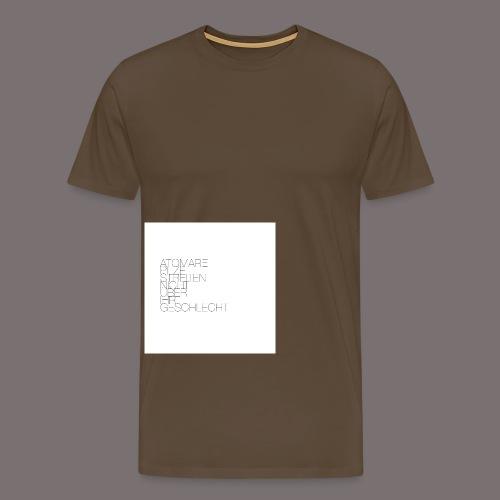 Atomare Pilze streiten nicht über ihr Geschlecht. - Männer Premium T-Shirt