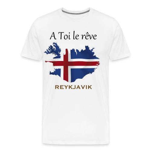 Collection A Toi Le Rêve - Islande - T-shirt Premium Homme