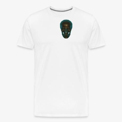 Totenkopf Blau Schwarz - Männer Premium T-Shirt