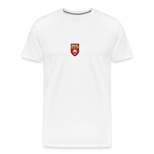 ManvFat FC Badge png - Men's Premium T-Shirt