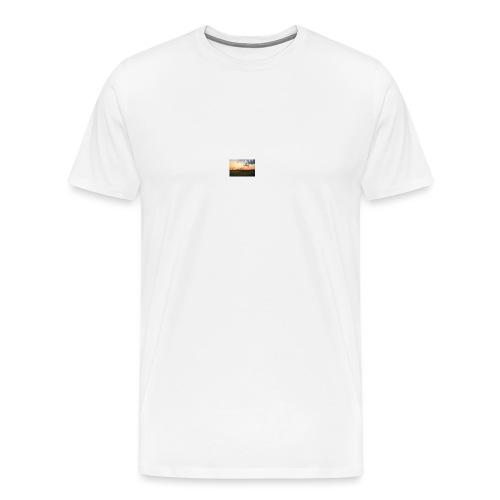 Sonnenuntergang - Männer Premium T-Shirt