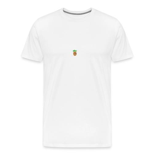 PINEAPPLE REEBOOT 6/6S COVER HVID - Herre premium T-shirt
