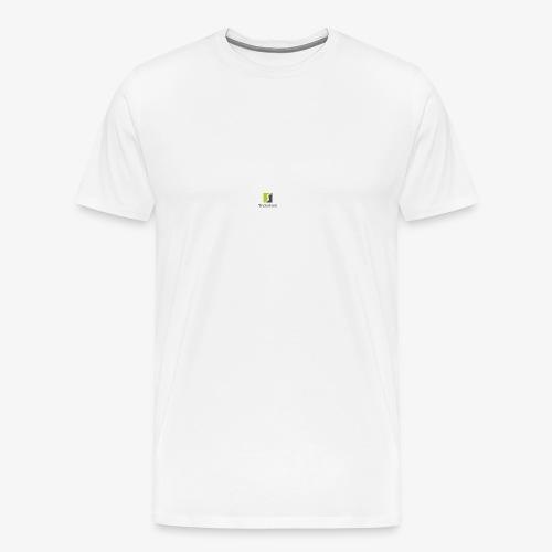 Trickshoot märke - Premium-T-shirt herr