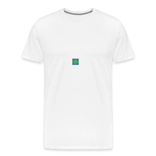 p for pologum - Premium T-skjorte for menn