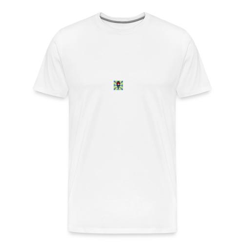 Qanz Gaming Deksel - Premium T-skjorte for menn