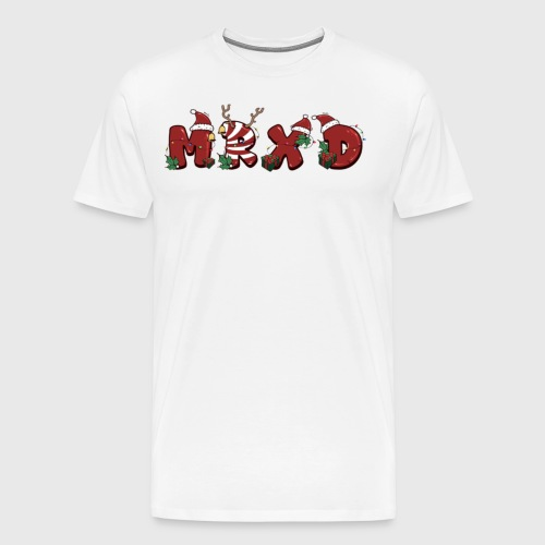 MrXD natale png - Maglietta Premium da uomo