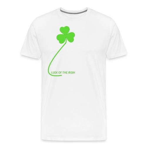 Luck of the Irish - Men's Premium T-Shirt
