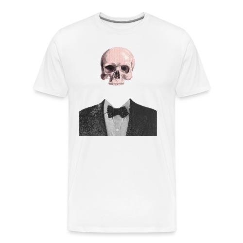 Elegant Skull - Maglietta Premium da uomo