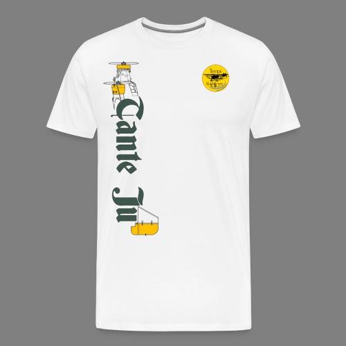 TDH19-PROFIL-JU52 GRIS FONCE - T-shirt Premium Homme