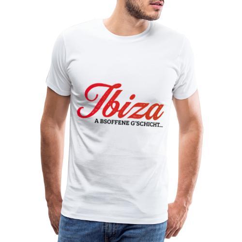 ibiza besoffene gschicht | ibizagate ibiza skandal - Männer Premium T-Shirt