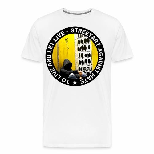 No hate family - by Eulen Heulen (CH) - Männer Premium T-Shirt
