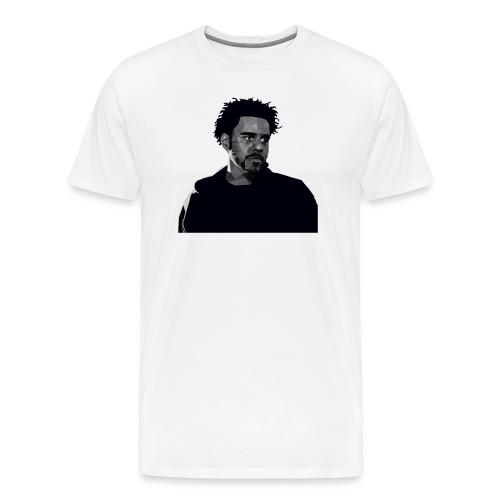 J-Cole illustration - Männer Premium T-Shirt